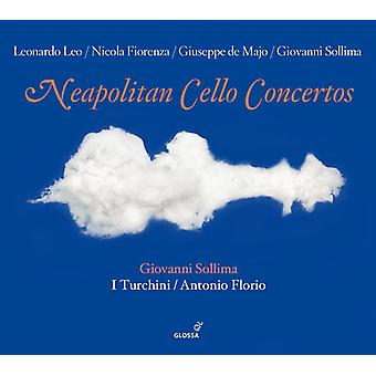 I Turchini - Neapolitan Cello Concertos [CD] USA import