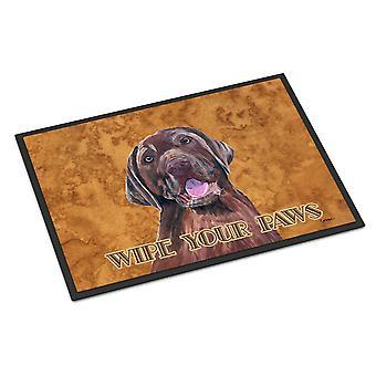 Carolines Treasures  SC9127JMAT Labrador Indoor or Outdoor Mat 24x36 Doormat