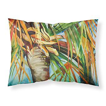 Orange Top Palm Tree Stoff Standard Kissenbezug