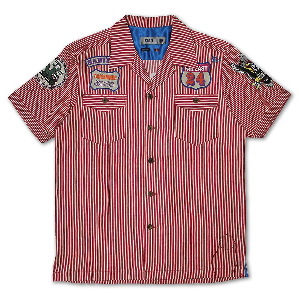 Sabit Work Shirt Red