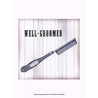Barber Shop Quartet III Poster Print by Jarman Fagalde (10 x 13)