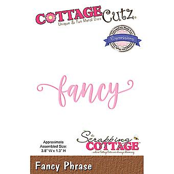CottageCutz Expressions Plus Die-Fancy 3.8