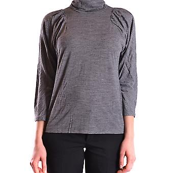 See by Chloé women's MCBI273013O grey viscose sweaters
