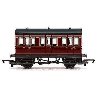 Calibrador de Hornby ferrocarril Lms 4 rueda coche