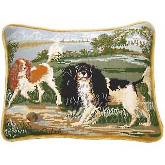 Cavaliers Needlepoint Kit