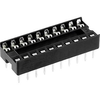 IC socket Contact spacing: 7.62 mm Number of pins: 16 econ connect