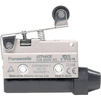 Limit switch 115 Vdc, 250 V AC 10 A Lever momentary