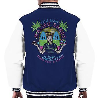 Saved By The Bell Malibu Sands Resort Men's Varsity Jacket