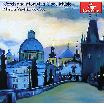 Marlen Vavrikova - Czech and Moravian Oboe Music [CD] USA import