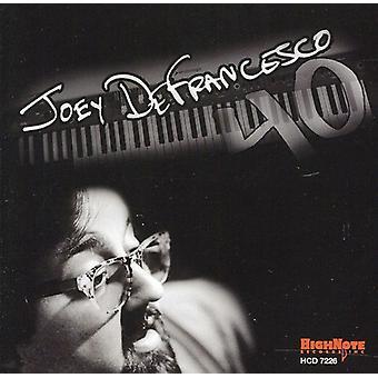 Joey Defrancesco - 40 [CD] USA importerer