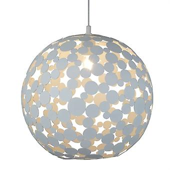 Avalon Circles Small Pendant - Searchlight 5609-40wh