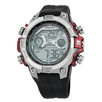 Burgmeister gents Chronograph digital Watch Digital Power BM800-112A di allarme