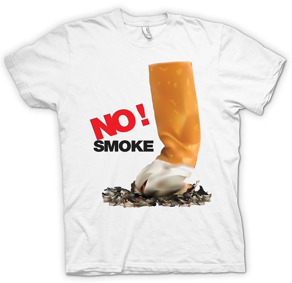 Mens T-shirt - No Smoke - Anti Smoking