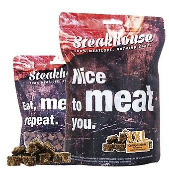Meatlove 100g pollame Steakhouse Minis secchi cane snack