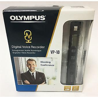 Olympus VP-10 Stereo Voice Recorder with 4 GB Flash Memory