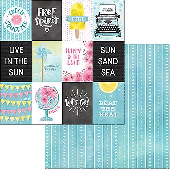 Summer Mood Double-Sided Cardstock 12