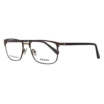 Guess glasses mens Brown
