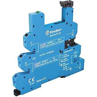 Relay socket + bracket, + LED, + EMC emission supressor 1 pc(s) Finder 93.66.0.240 Compatible with series: Finder 34 ser