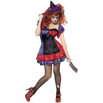 Kvinnor kostymer sexig halloween kostym Bo Bo clownen