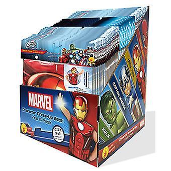 Marvel paquete para fiestas chicos caja 36 traje y máscara set originales