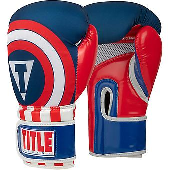 Title Boxing Infused Foam Training Boxing Gloves - Commander