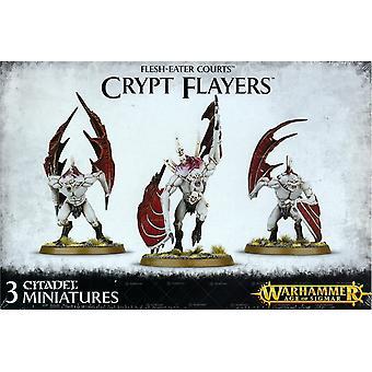 Games Workshop Warhammer idade de Sigmar maníaco tribunais cripta Flayers
