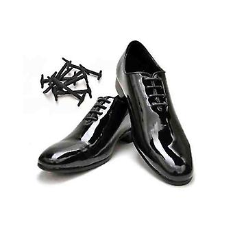 Black Smart Easy No Tie Shoes Laces