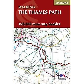 The Thames Path Map Booklet by Leigh Hatts - 9781852849252 Book