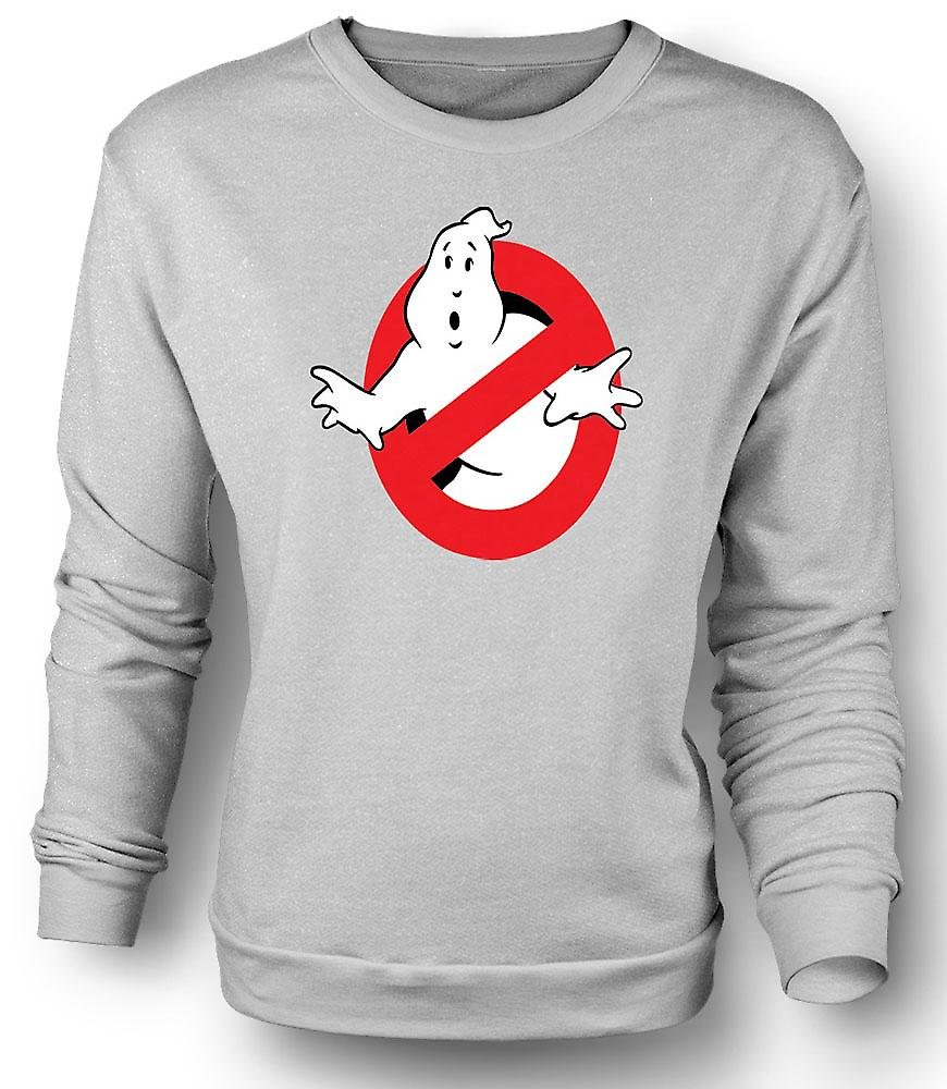Mens Sweatshirt Ghostbusters Logo