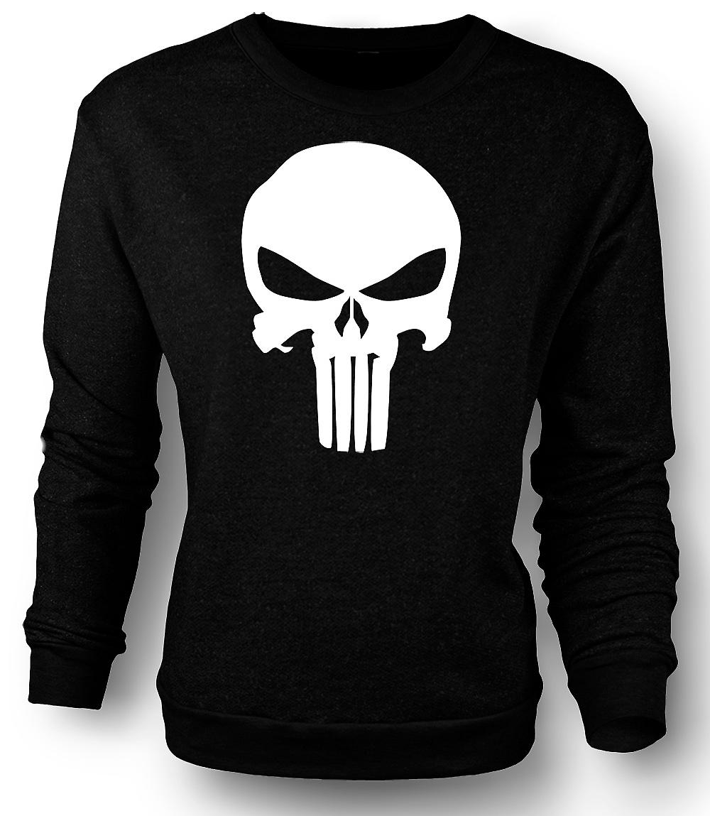 Mens Sweatshirt Punisher logoen - Vigilante
