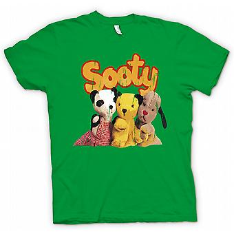 Kids T-shirt - Sooty and Sweep Kids TV Inspired - Retro