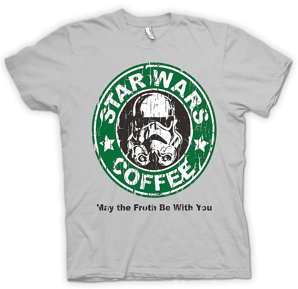 Mens t-shirt - Star Wars caffè - Stormtrooper