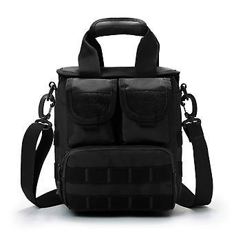 Shoulder bag in black, 24x23x13 cm model 2019-6011