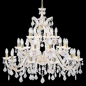 Searchlight 1214-30 Marie Therese 30 Light Chandelier