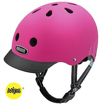 Nutcase Little Nutty-Pink-Bubbles-MIPS-Kinder Helm (48-52 cm)