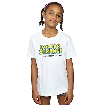 Marvel Girls Doctor Strange AKA Stephen Vincent Strange T-Shirt
