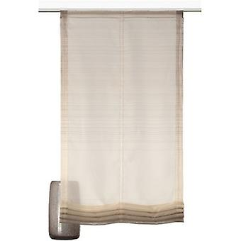 decode trends curtain beautiful Roman shade gradient transparent Brown
