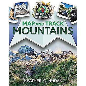 Karte und Strecke Berge (Karte und Track Biome und Tiere)