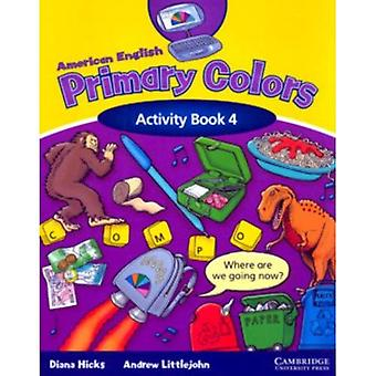 American English Primary Colors 4 Activity Book (Primary Colours)