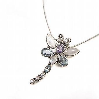 925 Silver Dragonfly Fancy Drop 17