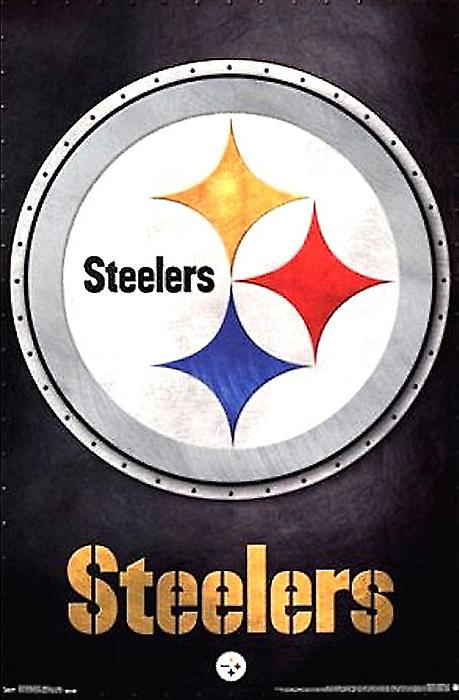 Pittsburgh Steelers Poster Football Wall Art Print (22x34)