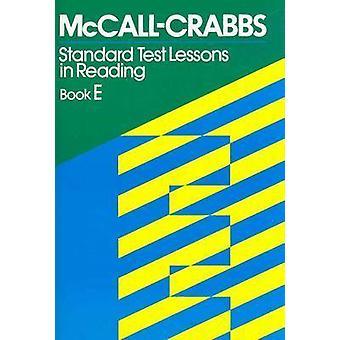 Mccall Crabbs Standard Test by McCall Crabbs - 9780807755488 Book