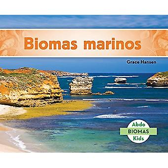 Biomas Marinos (Marine Biome) by Grace Hansen - 9781624026898 Book