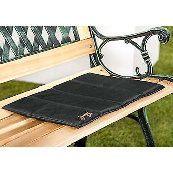 Gardenista® Black Water Resistant 4 Part Folding Sit Mat