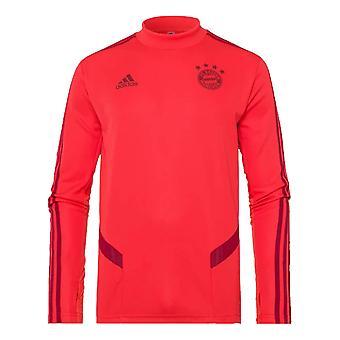 2019-2020 Bayern Munich Adidas Training Top (Red) - Kids