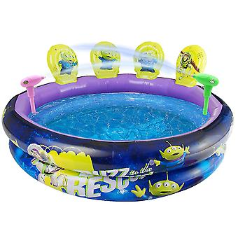 Disney Toy Story 4 Inflatable Paddling Pool with Targets and Guns