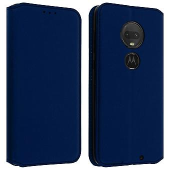 Classic Edition stand case with card slot Motorola Moto G7 / G7 Plus - Dark blue