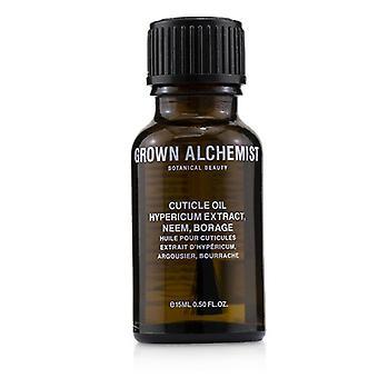 Gegroeid alchemist cuticle olie-Hypericum extract Neem & borage-15ml/0.5 oz