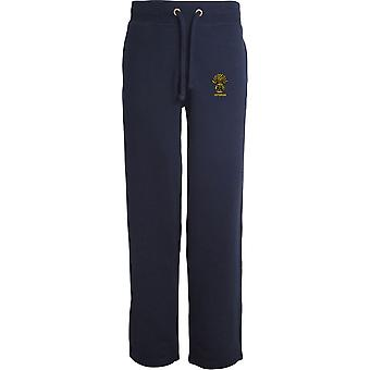 Honoroury Artillery Company Veteran - Licensed British Army Embroidered Open Hem Sweatpants / Jogging Bottoms