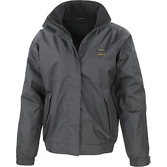 Prince of Wales eget regiment av Yorkshire veteran-lisensiert britiske hæren brodert vanntett jakke med fleece Inner